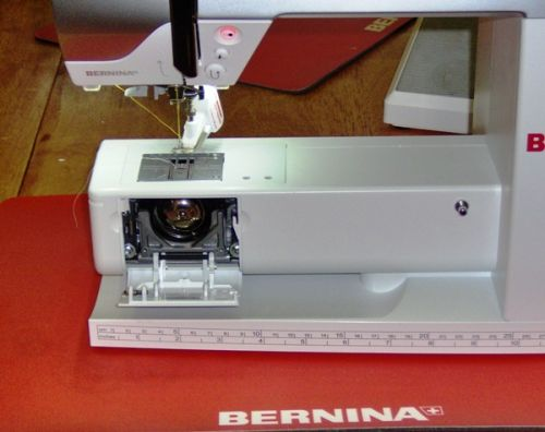 The freehand sewing system on the Bernina 530 QE