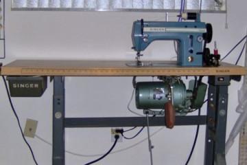 The Singer 20U, an industrial machine