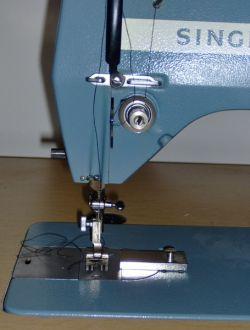 Three separate upper tension dials