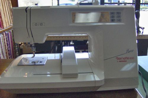 Bernina Bernette Deco 600 sewing machine