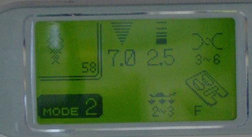 Adjustable contrast dial and LCD Screen