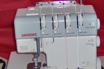 Janome 1110 DX serger main