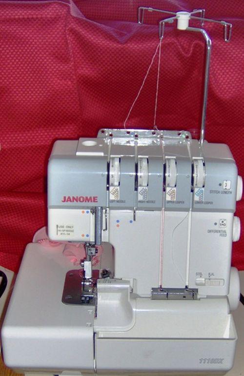 Janome 1110 DX serger