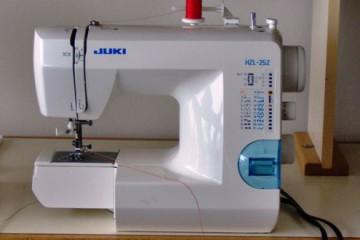 Juki HZL 25Z, a truly portable sewing machine