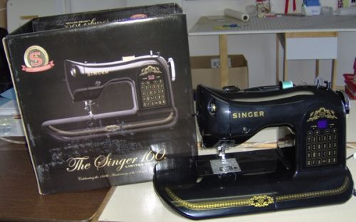 The Singer 160 Limited Edition with its carton