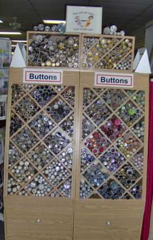 Buttons for sewing