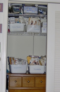 Shoeboxes for most of jewelry supplies