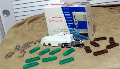 Buttonhole maker