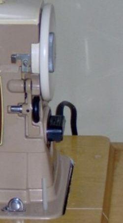 The spool pin