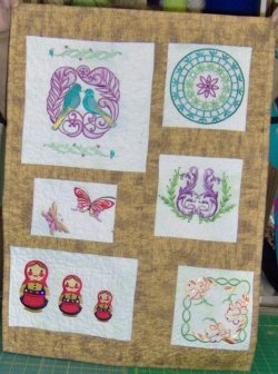 Embroidery and quilting projects