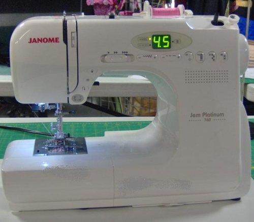 Janome Jem Platinum 760