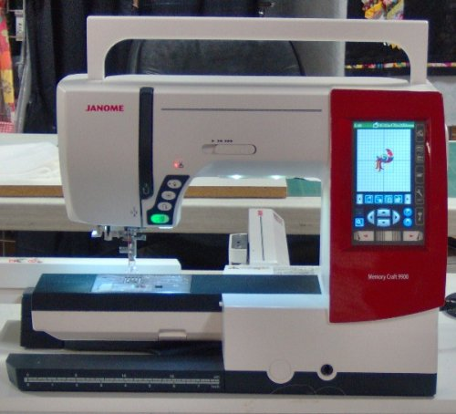 janome memory craft 9900 review sewing insight