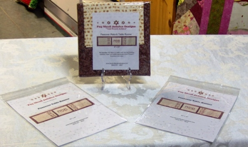 Kit for sewing Passover specific table decorations