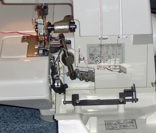 White Speedylock Model 1600 Review