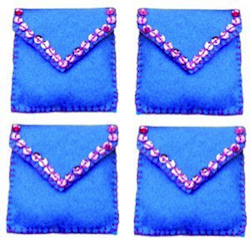 Adorable Hanukkah coin purses
