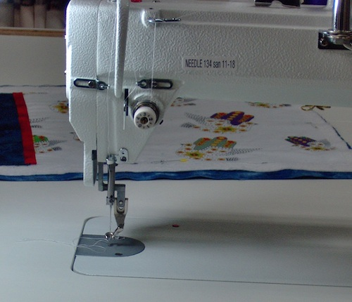 Removing the bobbin is a little bit of a challenge