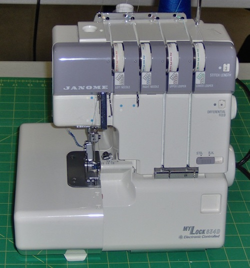 threading a janome sewing machine