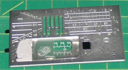 Buttonhole stabilizer plate