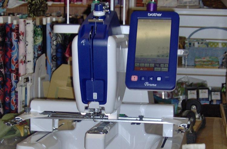 persona embroidery machine