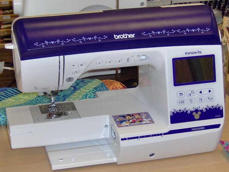 An excellent sewing and embroidery machine