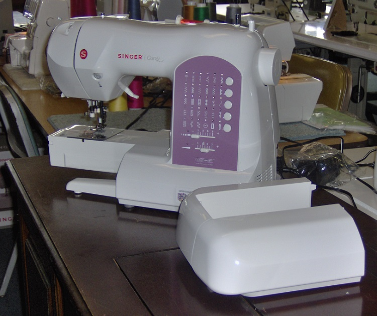 singer curvy sewing machine 8763