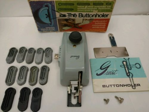 Fashioned Buttonhole Makers