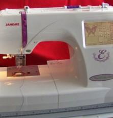 Janome Memory Craft 350E Review